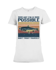 Don't Trout Yourself Premium Fit Ladies Tee thumbnail