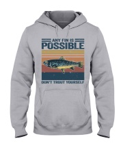 Don't Trout Yourself Hooded Sweatshirt front