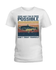Don't Trout Yourself Ladies T-Shirt thumbnail