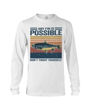 Don't Trout Yourself Long Sleeve Tee thumbnail