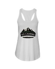 Go Camping Ladies Flowy Tank thumbnail