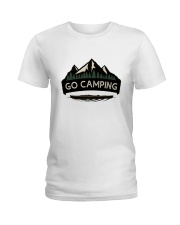 Go Camping Ladies T-Shirt thumbnail