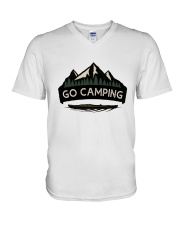 Go Camping V-Neck T-Shirt thumbnail