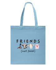 Friends Not Food Tote Bag thumbnail