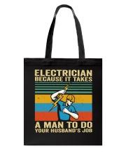A Man To Do Tote Bag thumbnail