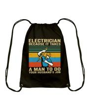 A Man To Do Drawstring Bag thumbnail