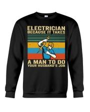 A Man To Do Crewneck Sweatshirt thumbnail