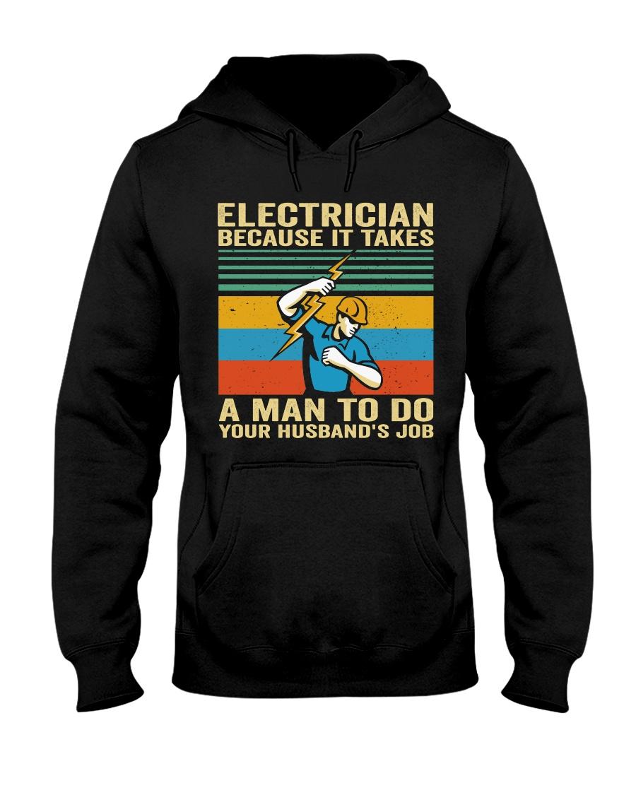 A Man To Do Hooded Sweatshirt