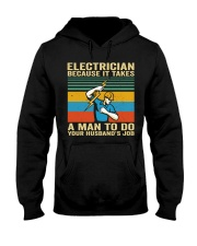 A Man To Do Hooded Sweatshirt front
