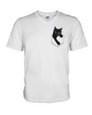 Love Cat V-Neck T-Shirt thumbnail