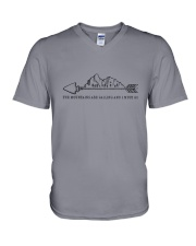 The Mountains Are Calling 1 V-Neck T-Shirt thumbnail