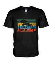 Just Get Over It V-Neck T-Shirt thumbnail