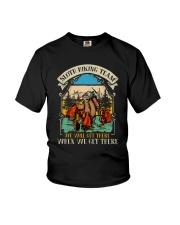 Sloth Hiking Team Youth T-Shirt thumbnail