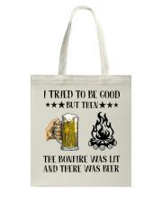 I Tried To Be Good Tote Bag thumbnail
