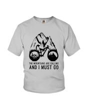 Mountain Biking Youth T-Shirt thumbnail