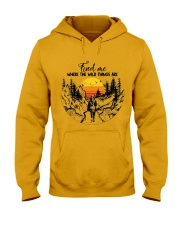 Where The Wild Things Are Hooded Sweatshirt front