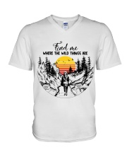 Where The Wild Things Are V-Neck T-Shirt thumbnail