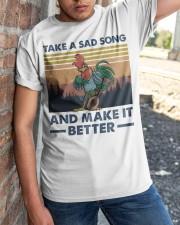 Take A Sad Song Classic T-Shirt apparel-classic-tshirt-lifestyle-27