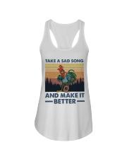Take A Sad Song Ladies Flowy Tank thumbnail