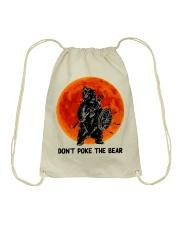 Don't Poke The Bear Drawstring Bag thumbnail
