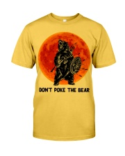 Don't Poke The Bear Classic T-Shirt front