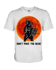 Don't Poke The Bear V-Neck T-Shirt thumbnail
