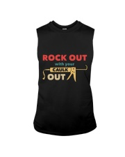 Rock Out With Your Caulk Out Sleeveless Tee thumbnail