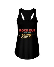 Rock Out With Your Caulk Out Ladies Flowy Tank thumbnail