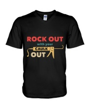 Rock Out With Your Caulk Out V-Neck T-Shirt thumbnail