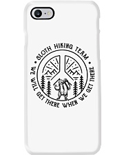 Sloth Hiking Team Phone Case tile