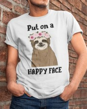 Put On A Happy Face Classic T-Shirt apparel-classic-tshirt-lifestyle-26