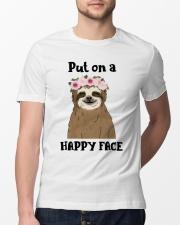 Put On A Happy Face Classic T-Shirt lifestyle-mens-crewneck-front-13