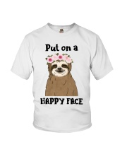 Put On A Happy Face Youth T-Shirt thumbnail