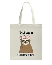 Put On A Happy Face Tote Bag thumbnail