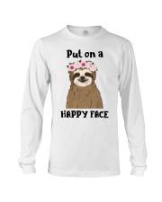 Put On A Happy Face Long Sleeve Tee thumbnail