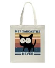 Sarcastic Never Tote Bag thumbnail