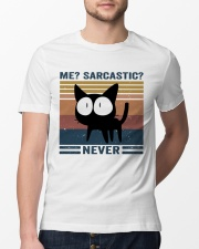 Sarcastic Never Classic T-Shirt lifestyle-mens-crewneck-front-13