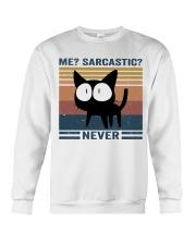 Sarcastic Never Crewneck Sweatshirt thumbnail