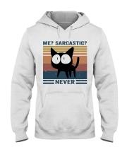 Sarcastic Never Hooded Sweatshirt thumbnail
