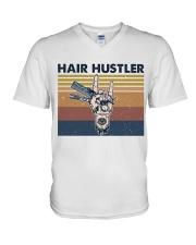 Hair Hustler V-Neck T-Shirt thumbnail