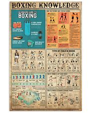 Boxing Knowledge 11x17 Poster front