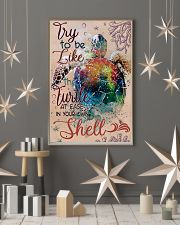 Try To Be Like A Turtle 11x17 Poster lifestyle-holiday-poster-1