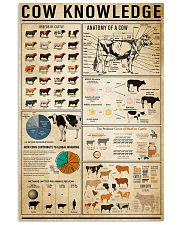 Cow Knowledge 11x17 Poster front