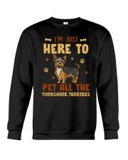 Yorkshire Terriers Crewneck Sweatshirt thumbnail