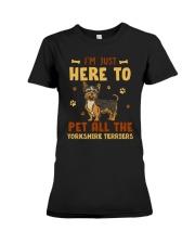 Yorkshire Terriers Premium Fit Ladies Tee thumbnail