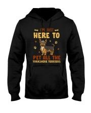 Yorkshire Terriers Hooded Sweatshirt thumbnail