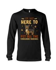 Yorkshire Terriers Long Sleeve Tee thumbnail