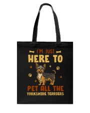Yorkshire Terriers Tote Bag thumbnail