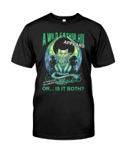 A Wild Cathulhu Appears Premium Fit Mens Tee thumbnail