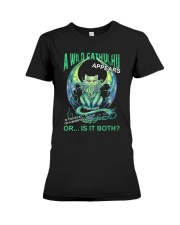 A Wild Cathulhu Appears Premium Fit Ladies Tee thumbnail